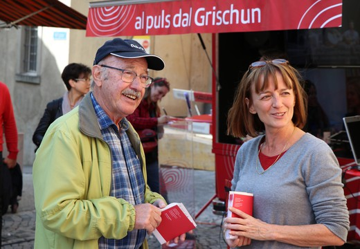 Bild von «SRG on the road» in Maienfeld