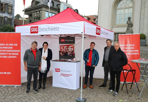 Bild von «SRG on the road» in Herisau