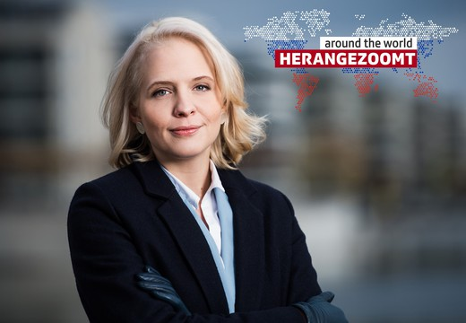 Bild von Sektion 1: «Herangezoomt around the World»: Luzia Tschirky, SRF-Korrespondentin, Moskau