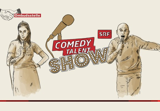 Bild von Ombudsfall: Sprachsensible «Comedy Talent Show»