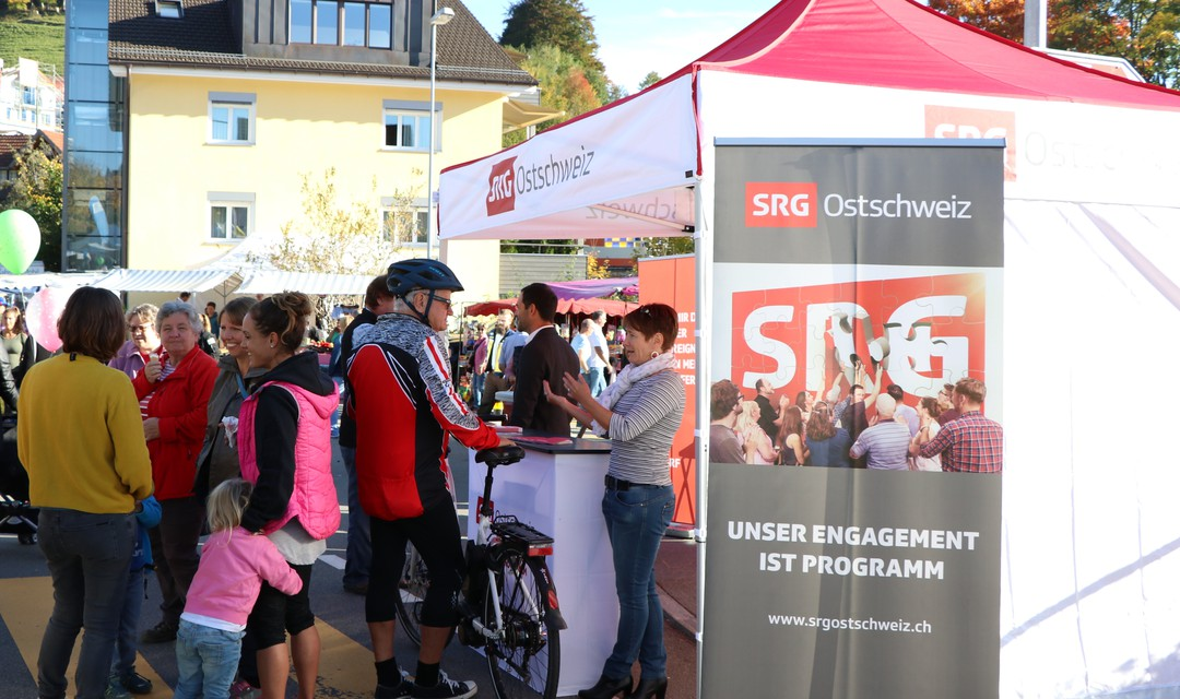 Bild von «SRG on the road» am Herbstmarkt in Heiden