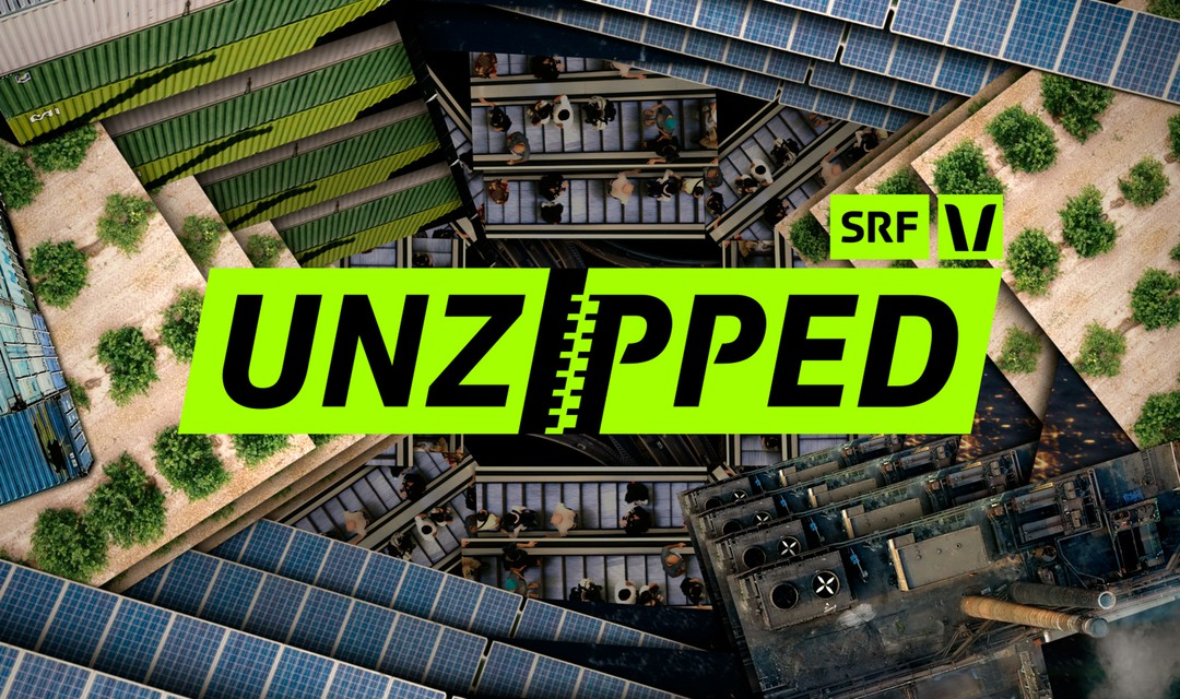 SRF Virus Webserie «Unzipped» Keyvisual