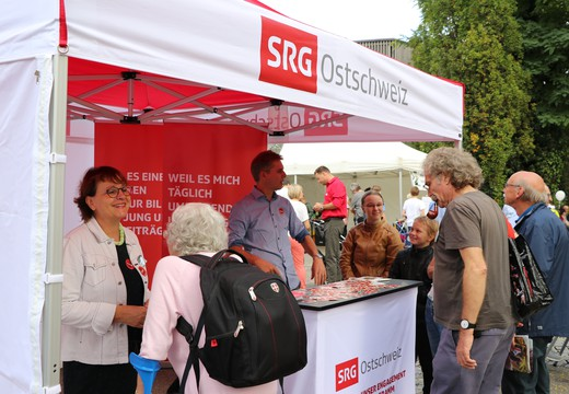 Bild von «SRG on the road» in Weinfelden