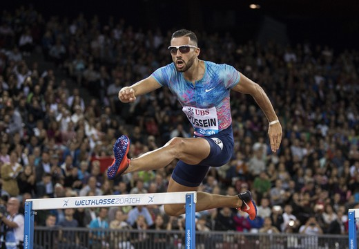 Bild von SRF zeigt alle Diamond-League-Meetings 2018 live im Web